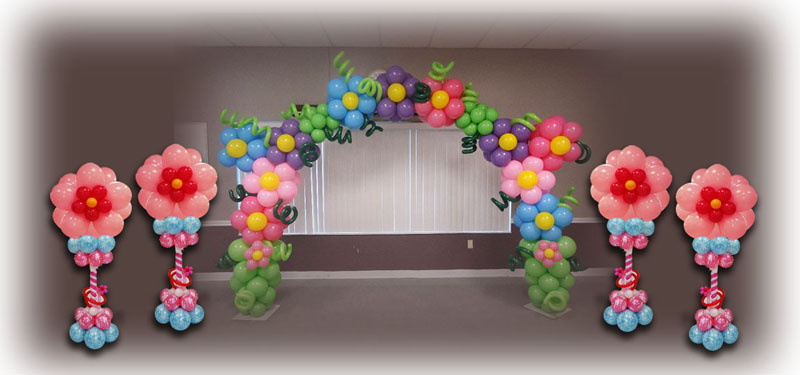 Balloon Cluster Cake Decorations