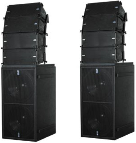 Line Array Large Speakers