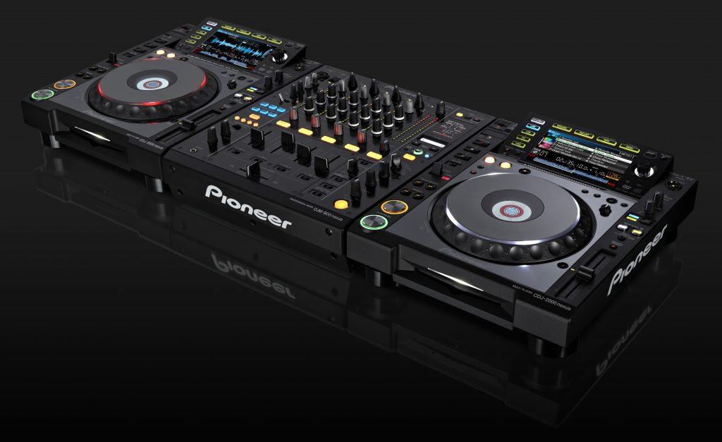 CDJ DJ Deck
